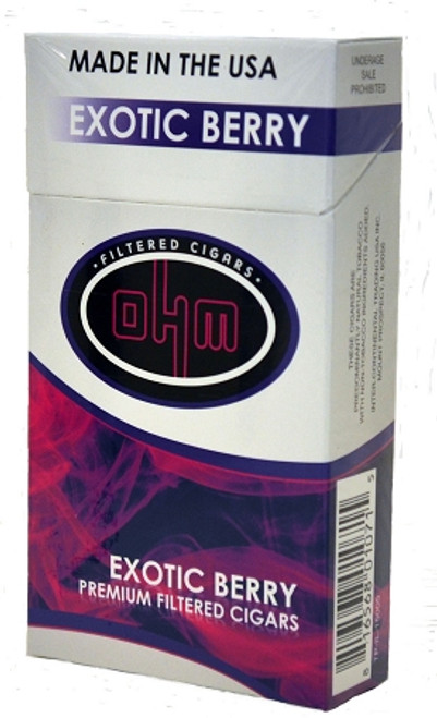OHM Filtered Cigars Exotic Berry