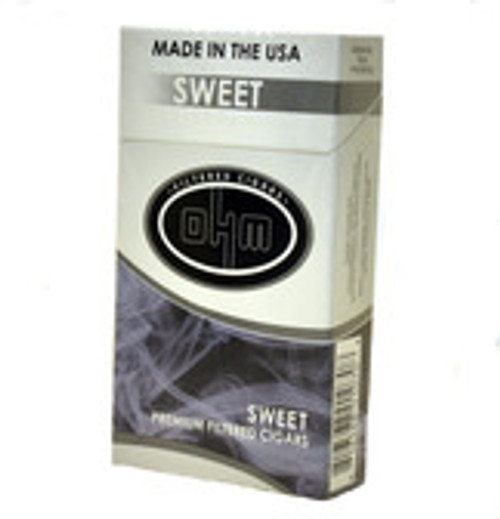 OHM Filtered Cigars Sweets