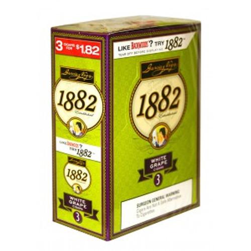 Garcia Y Vega 1882 White Grape  10 Packs of 3