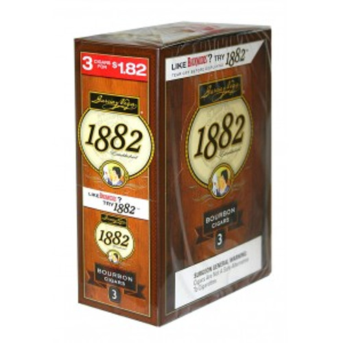 Garcia Y Vega 1882 Bourbon Cigars 10 Packs of 3