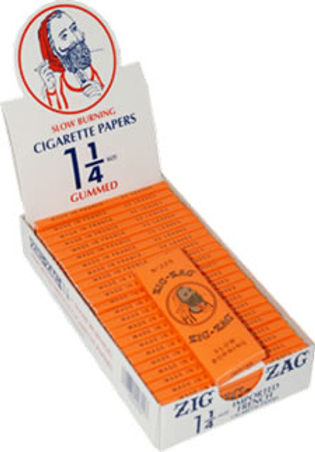 Zig Zag Orange Cigarette Paper 1/14 24ct