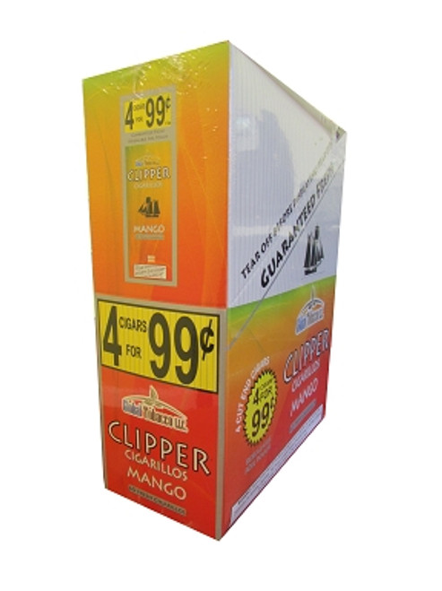 Clipper Cigarillos Mango 15 Pouches of 4