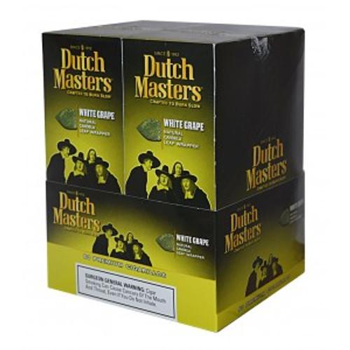 Dutch Masters Cigarillos White Grape Foil 20 Pouches of 3