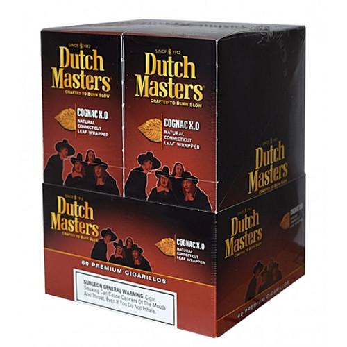 Dutch Masters Cigarillos Cognac X.O Foil 20 Pouches of 3