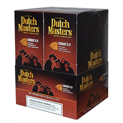 Dutch Masters Cigarillos Cognac X.O Foil 20 Pouches of 3