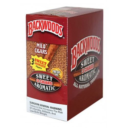 Backwoods Sweet Aromatic Cigars 10/3