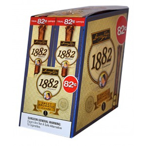 Garcia Y Vega 1882 Sweet Aromatic Cigars 24ct