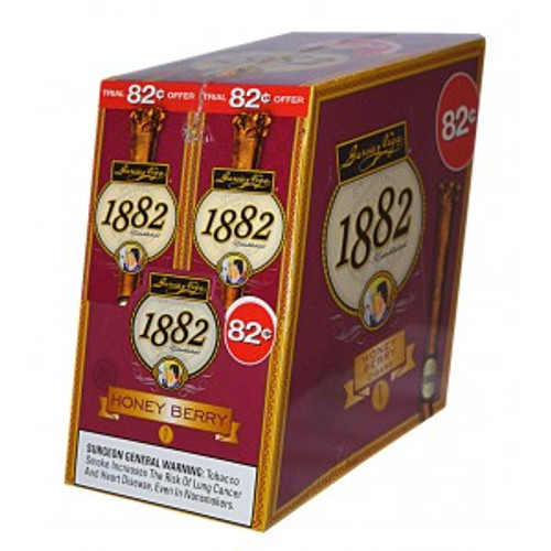 Garcia Y Vega 1882 Honey Berry Cigars 24ct