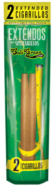 Extendos by Splitarillo Cigarillos Cali Green 2for1.39