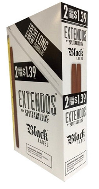 Extendos by Splitarillo Cigarillos Black Label 2for1.39