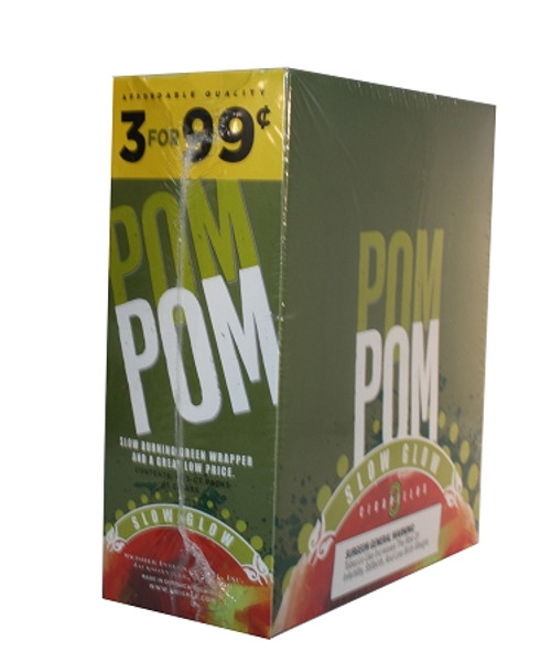 Pom Pom Foil Cigarillos Slow Glazed 3for0.99