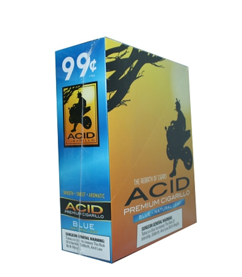 ACID Foil Cigarillos Blue 10/1