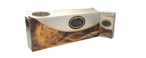 OHM Filtered Cigars Peach