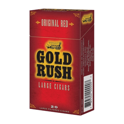 Gold Rush Filtered Cigars Full Flavor