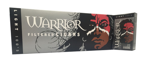 Warrior Filtered Cigars Light 100's