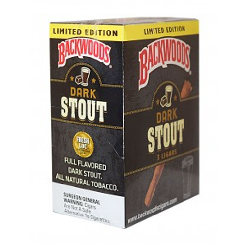 Backwoods Dark Stout Cigars 10/3