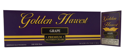 Golden Harvest Filtered Cigars Grape