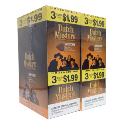 Dutch Masters Cigarillos HoneyComb Foil 20 Pouches of 3