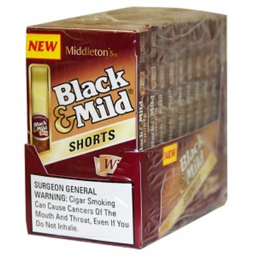 Black & Mild Shorts Cigars Wine Pack