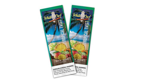 White Owl Cigarillos Tropical Twist 30 Pouches of 2