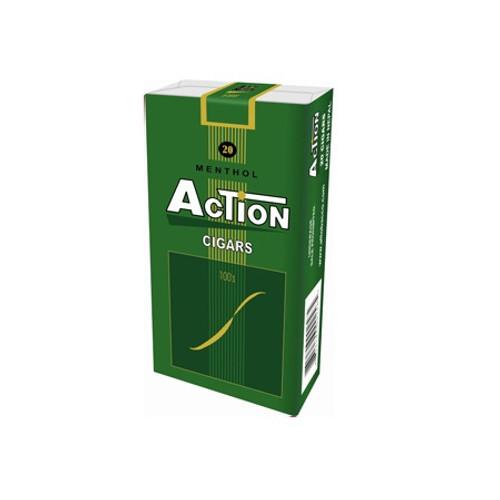 Action Filtered Cigars Menthol