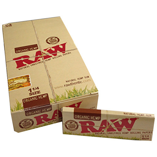 RAW Organic Hemp Rolling Papers 1.25
