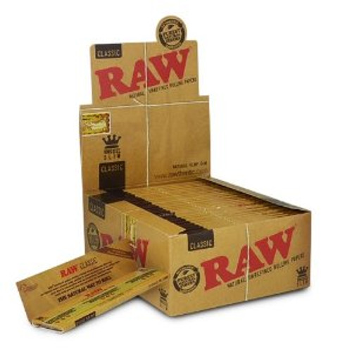 RAW Classic Rolling Papers Kingsize Slim 50Ct