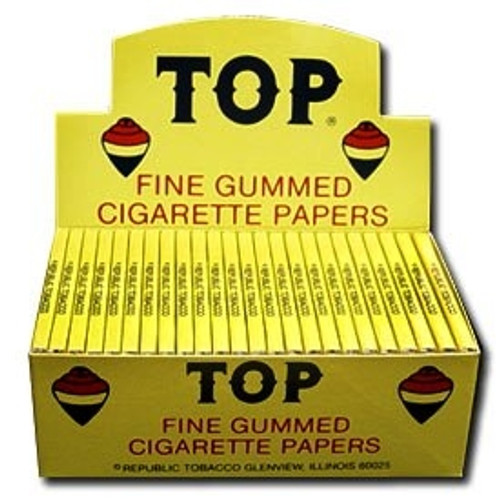 TOP Fine Gummed Cigarette Papers 24Ct