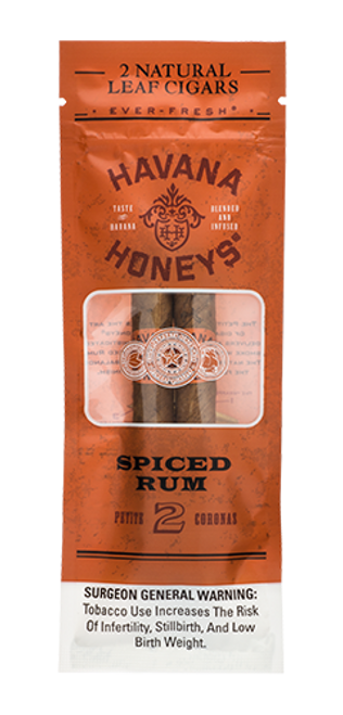 Havana Honeys Cigars Spiced Rum 10/2