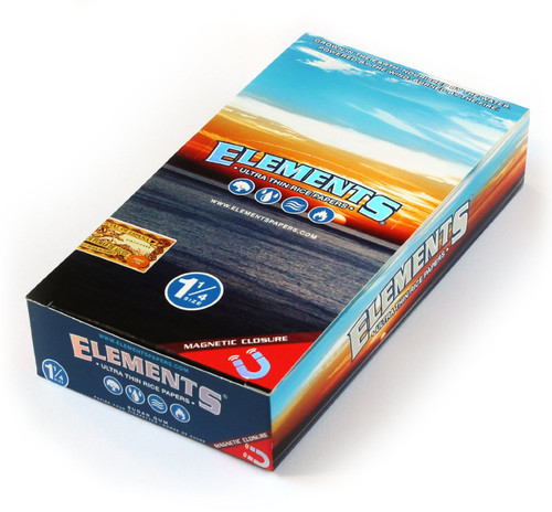 Elements Cigarette Rolling Papers 1.25 25Ct