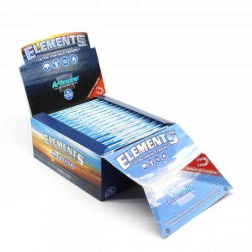 Elements Cigarette Rolling Papers Artesano King Size Slim 15Ct