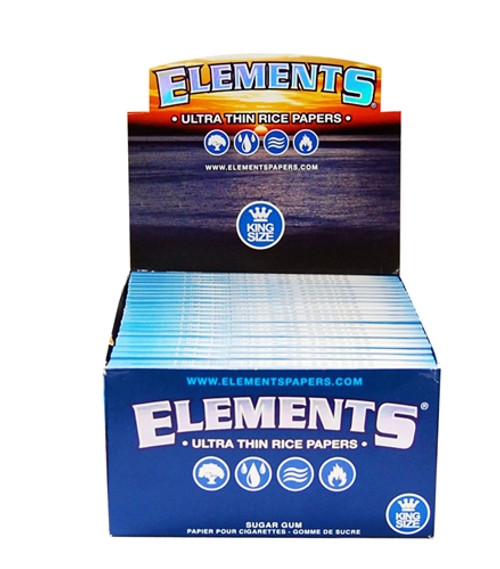 Elements Cigarette Rolling Papers King Size 50Ct