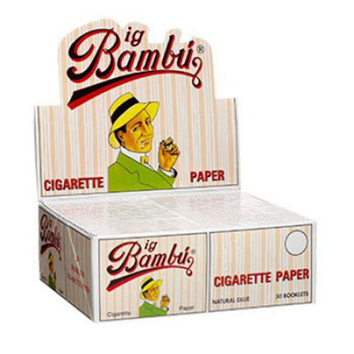 Big Bambu Cigarette Papers 50Ct