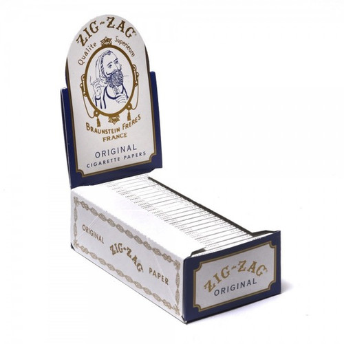 Zig Zag Original Cigarette Papers 24Ct