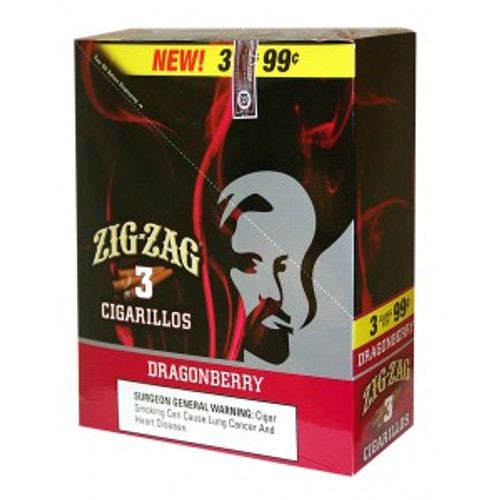 Zig Zag Cigarillos Dragonberry 15/3