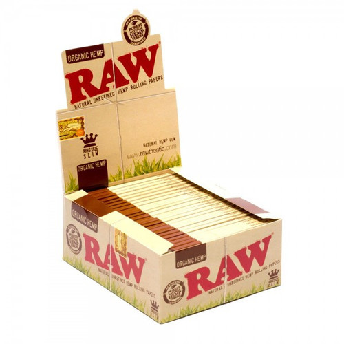 RAW Organic Hemp Rolling Papers King Size Slim