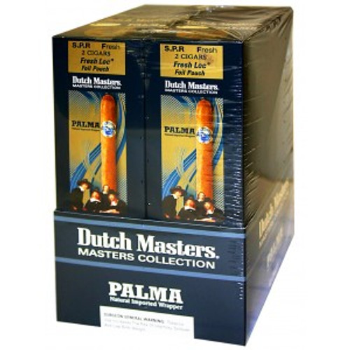 Dutch Masters Cigas Palma Foil 20/2