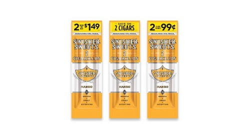 Swisher Sweets Cigarillos Foil Mango 30 Pouches of 2
