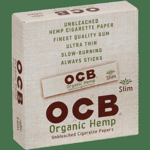 OCB Organic Hemp Cigarette Papers King Size Slim