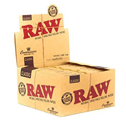 RAW Classic Coonoisseur King Size Slim with Tips