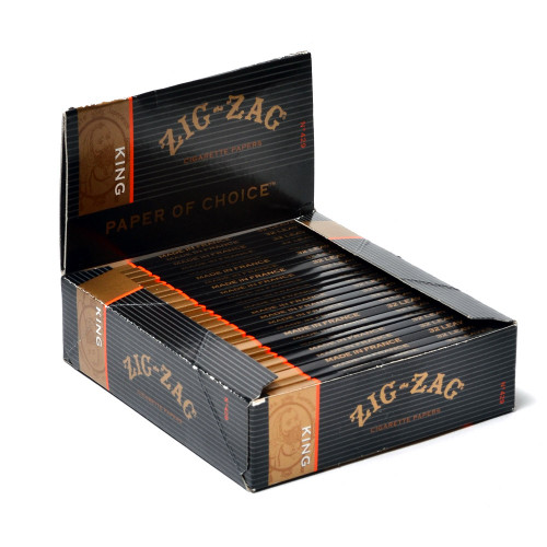 Zig Zag King Cigarette Papers 24Ct