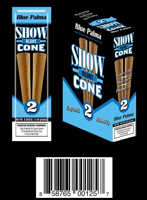 Show Blunt Cone Blue
