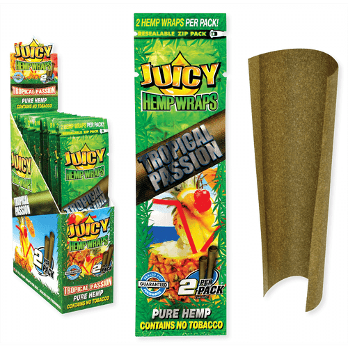 Juicy Jay Hemp Wraps Tropical Passion