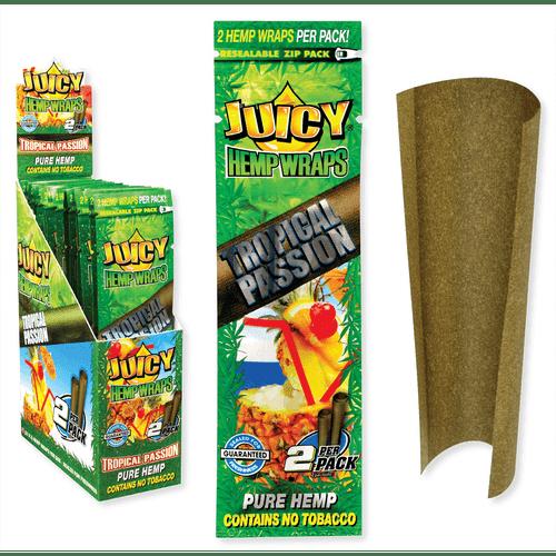 Juicy Jay Hemp Wraps Tropical Passion