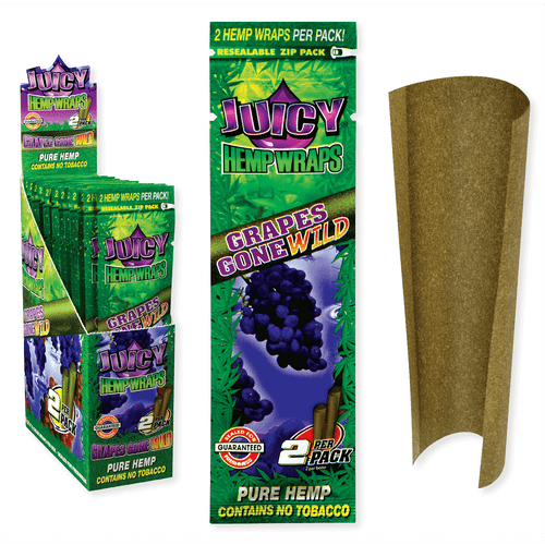 Juicy Jay Hemp Wraps Grapes Gone Wild