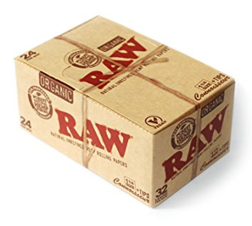 RAW Classic Coonoisseur 1 1/4 Slim with Tips