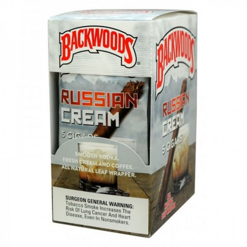 Backwoods Russian Cream Cigars 8/5Ct