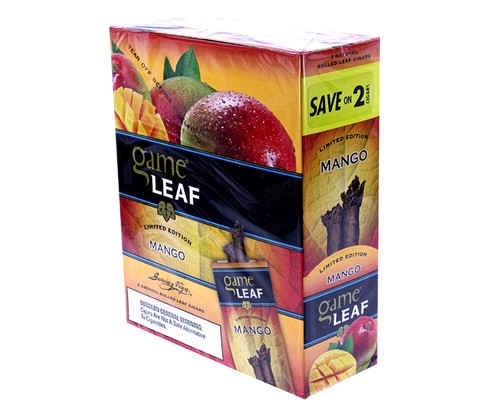 Game Leaf Cigars Mango 15/2