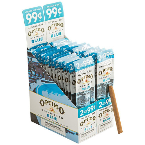 Optimo Cigarillos Foil Pack Blue