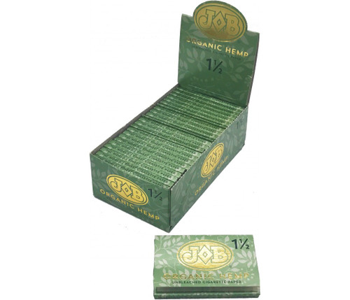 JOB Organic Hemp Cigarette Paper 1.25 24Ct